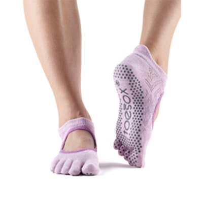 Yogastrumpor Toesox Fulltoe Bellarina Grip - Diamond Freesia
