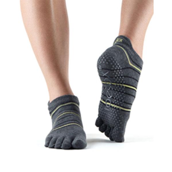 Yogastrumpor Toesox Fulltoe Lowrise grip - Amped