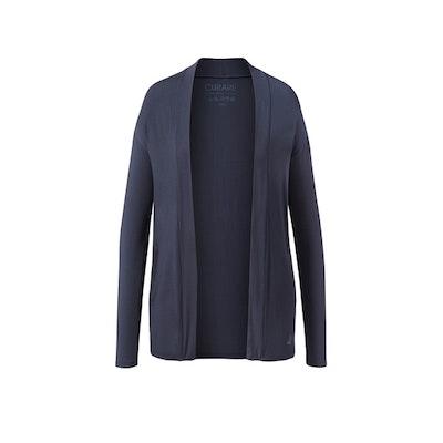 Cardigan Open Style från Curare Yogawear- Midnight blue