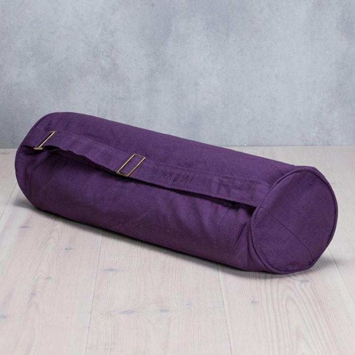 Yogaväska Lilac purple rund från YogiRAJ
