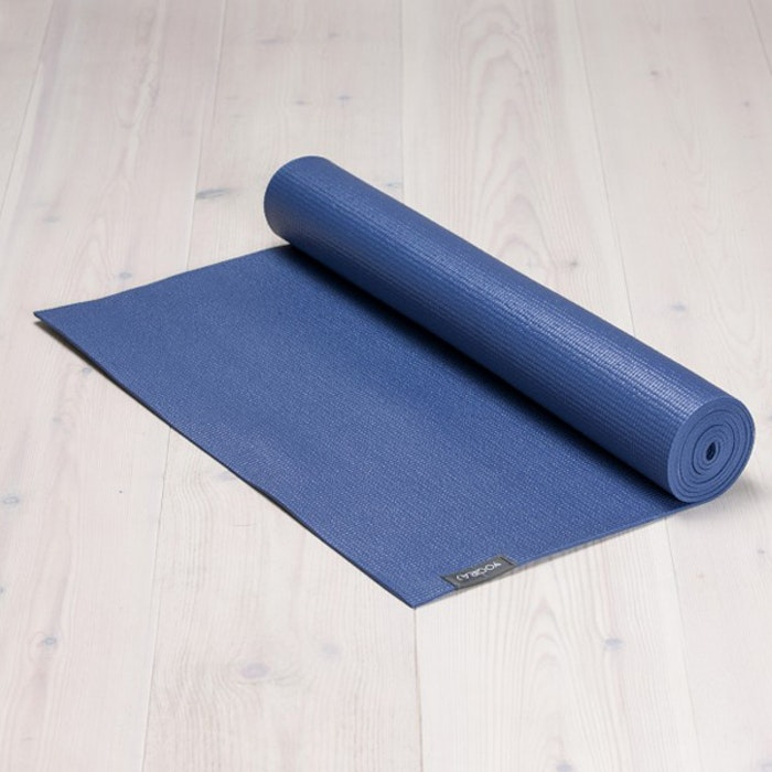 Yogamatta Allround 6mm Blueberry blue från YogiRAJ