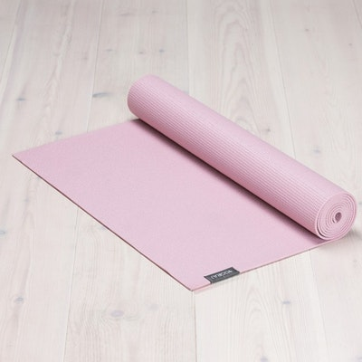 Yogamatta Allround 6mm Heather Pink från YogiRAJ