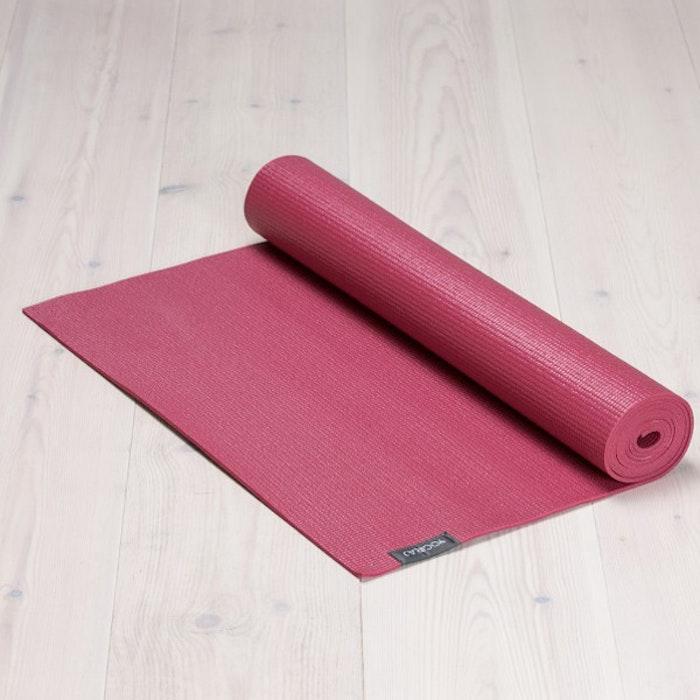 Yogamatta Allround 6mm Raspberry red  från YogiRAJ