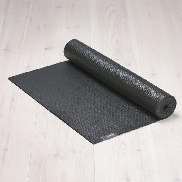 Yogamatta Svart Sadhaka 4mm från YogiRAJ