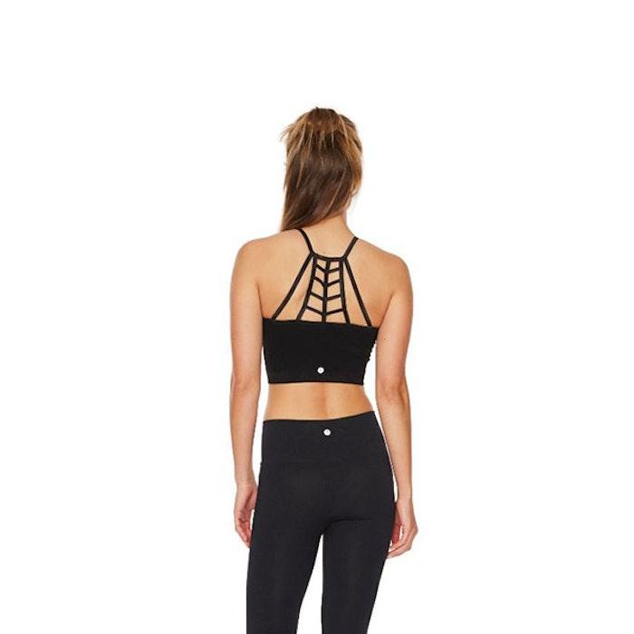 Sport-BH Yoga Bamboo Fishbone Black - Run & Relax