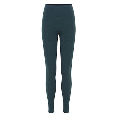 Yogaleggings Seamless Forest Green - Moonchild Yogawear