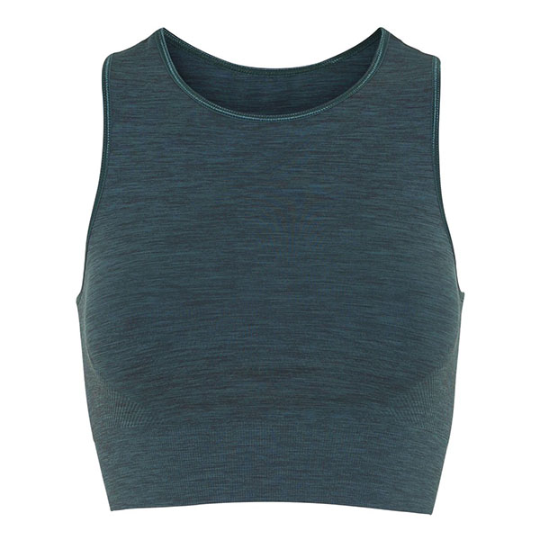 "Yoga BH ""Crop top"" från Moonchild Yoga - Forest Green"