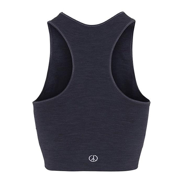"Yoga BH ""Crop top"" från Moonchild Yoga - Onyx Black"
