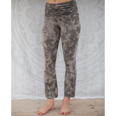 Yogaleggings Grey Half Moon pants från Paw Paw yogawear