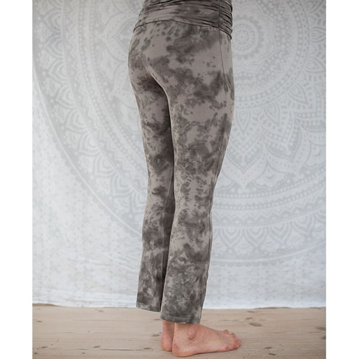 Yogaleggings Grey Half Moon pants från Paw Paw yogawear
