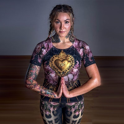 Yogatröja Golden Heart från Van Asch