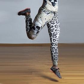 Yogabyxor Lace Skull från Van Asch