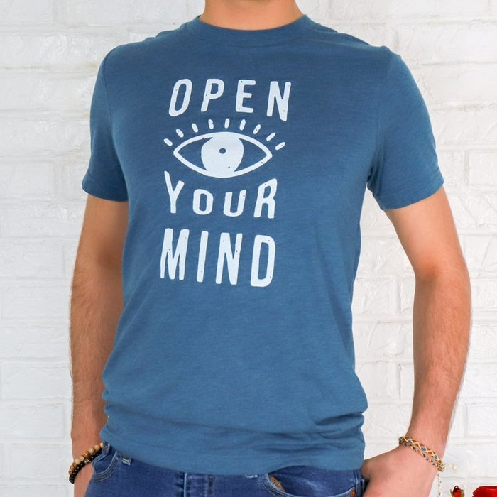 "Tröja ""Open your mind"" från SuperLove Tees"
