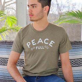 """Tröja """"Peace full"""" från SuperLove Tees"""