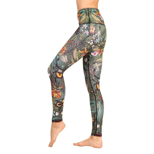 Yogaleggings Green Thumb från Yoga Democracy