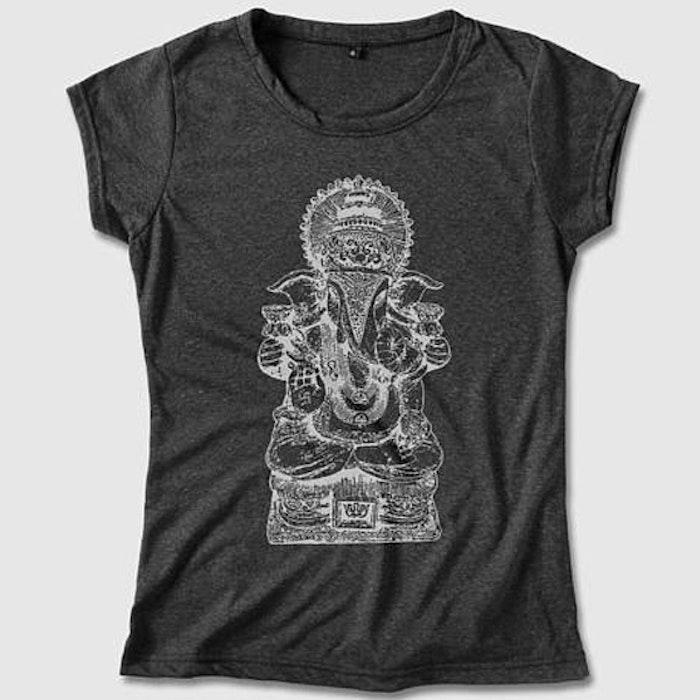 Yogia topp Ganesha  - mörkgrå