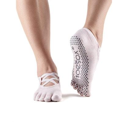 Yogastrumpor Toesox Fulltoe Elle - Ballet Pink