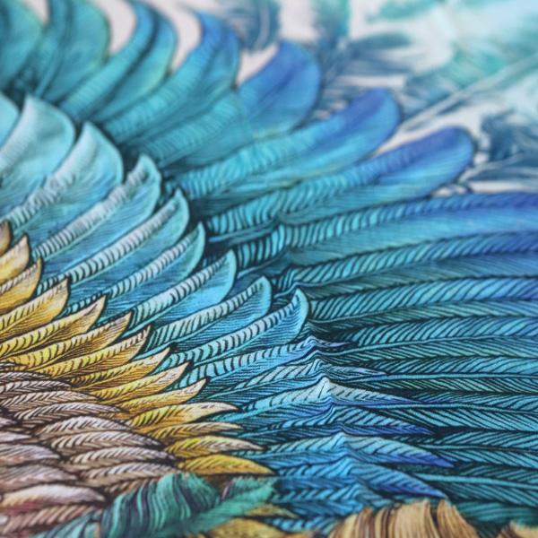 Sjal med vingar från Shovava - Bloom Bohemian