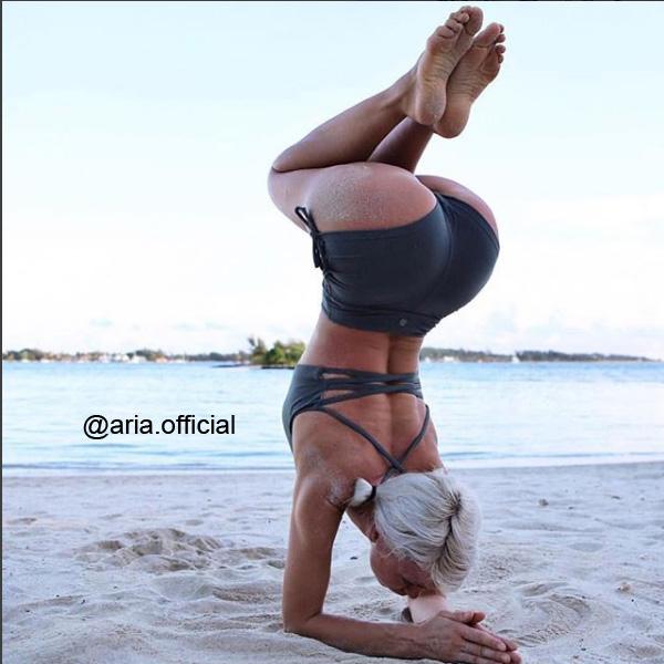 Yogashorts High Waist från Dharma Bums - Black