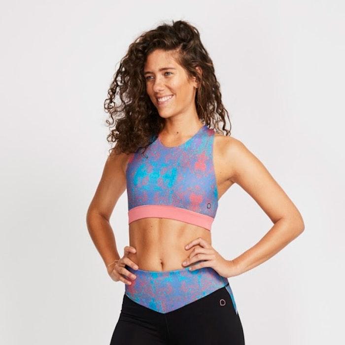 Yoga topp Bellport från DOM - Carib print