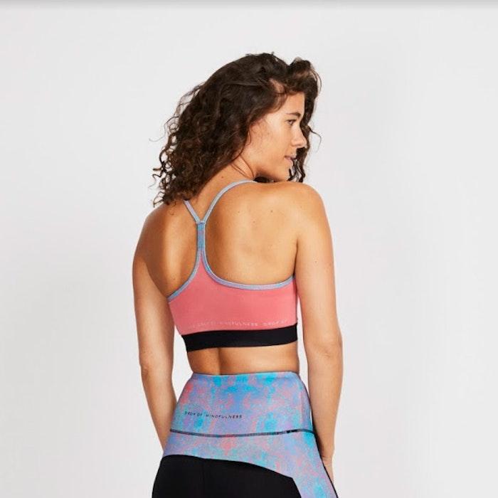 Yoga topp Freja från DOM - Coral