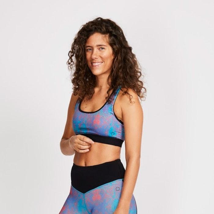 Sport-BH Yoga Becca Carib print - DOM