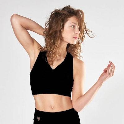 Yogatopp Ananda från Urban Goddess - Urban Black