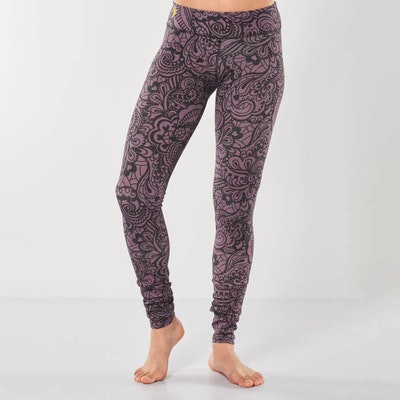 Yogaleggings Bhaktified Anjali från Urban Goddess-Jungle Orchid