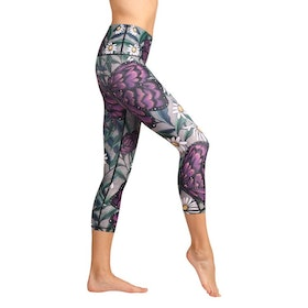 Yogaleggings Daisy Days Crops - Yoga Democracy