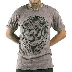 Yogatröja Man Infinitee Ohm från Sure Design - Mullvadsfärg