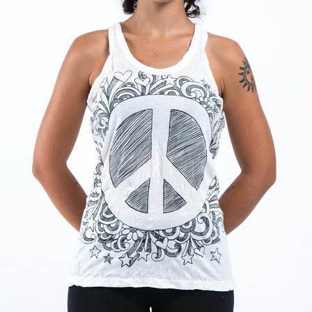 Yogalinne Infinitee Peace Sign från Sure Design -  Vit