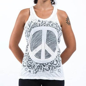 Yogalinne Infinitee Peace Sign från Sure Design -  Vit