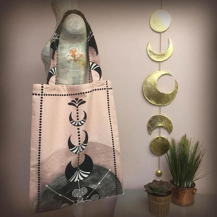 Van Asch väska rosa Luna Way