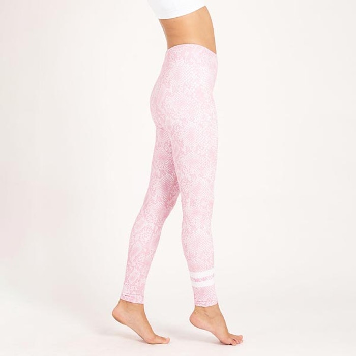 Yogaleggings Pink Phyton från Dharma Bums