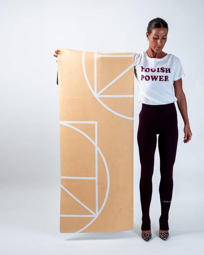 """Yogamatta """"Luxe yellow"""" Yogish Collective"""