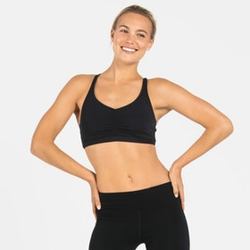 Yoga Black Bliss Sports bra från Dharma Bums