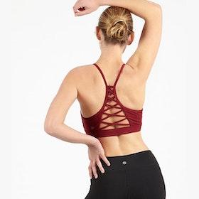 Sport-BH Yoga Cherry Criss cross - Dharma Bums