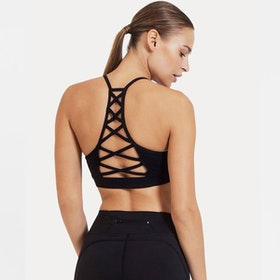 Sport-BH Yoga Black Criss cross - Dharma Bums