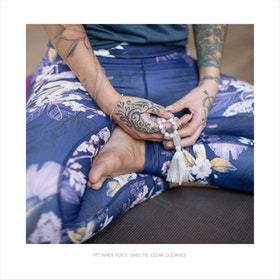 Yoga Print - My Inner Voice