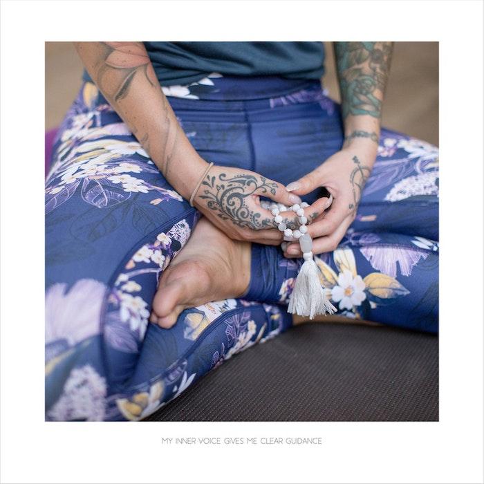 Yoga Print - My Inner Voice