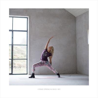 Yoga Print - I Stand Strong