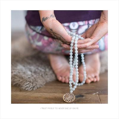 Yoga Print - I Trust Myself