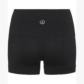 Yogashorts Seamless Onyx Black - Moonchild Yogawear