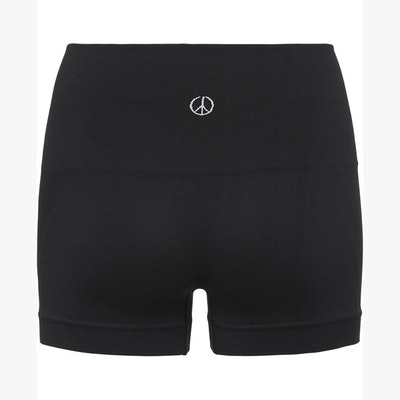 Yogashorts Seamless Onyx Black - Moonchild Yogawear