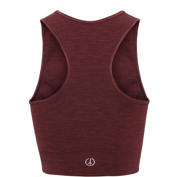 Yogatop Crop Top Geranium - Moonchild Yogawear