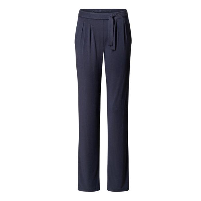 Yogabyxor Midnight blue Pants Tie Belt från Curare Yogawear