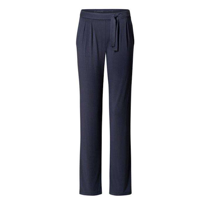 Yogabyxor Midnight blue Pants Tie Belt från Curare Yogawear