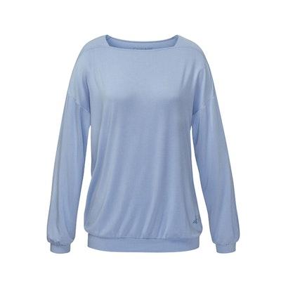 Långarmad tröja Shirt Karee Blue moon från Curare Yogawear