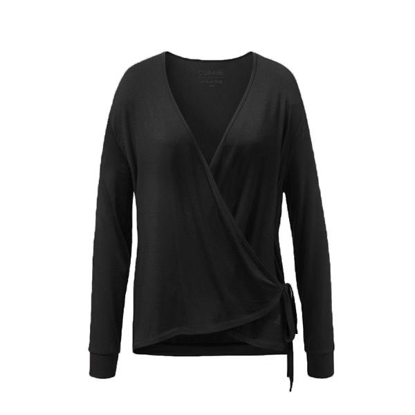 Yogatopp Wrap Jacket black från Curare Yogawear