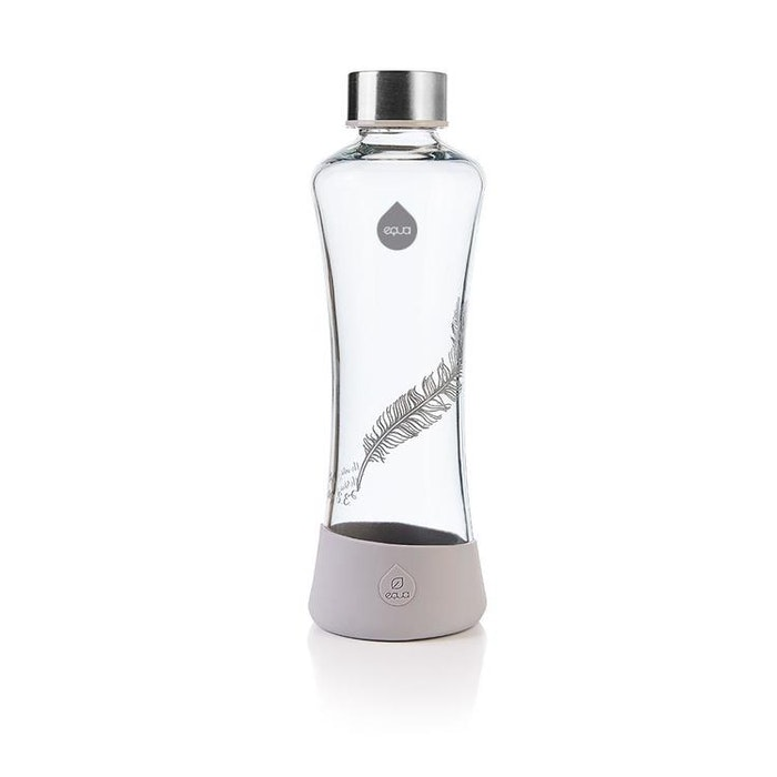 Vattenflaska Esprit Feather i glas - Equa